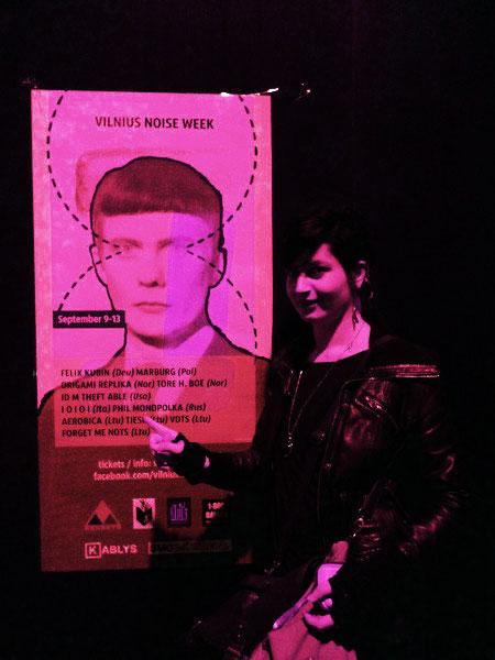 vilnius street poster, 2013